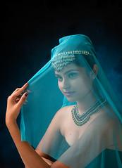 The Veiled Woman (Koshyk) Tags: veil beauty workshop portraitworkshop bkadrawal