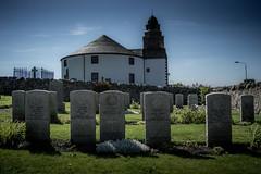 Bowmore Church, Islay (fenixstrat) Tags: graves scoland islay bowmore church