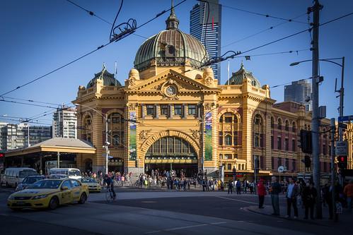 Flinders Street, Melbourne AUS