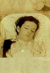 In Repose (~ Lone Wadi ~) Tags: death corpse dead funeral coffin casket retro 1890s 19thcentury victorian unknown cabinetcard