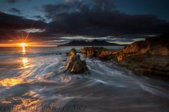Isle of Eigg (cARTerART) Tags: eigg isle rum rhum scotland singing sands beach sunset coast waves scottish smal isles