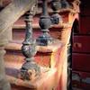 Shaggy stoop (mydogripley) Tags: brooklyn stoop railing baluster decay peeling paint texture