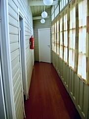 Krimulda 23 ((krungadoren)) Tags: hallway lights windows fireextinguisher krimulda krimuldamanor krimuldasmuiža latvia 2014