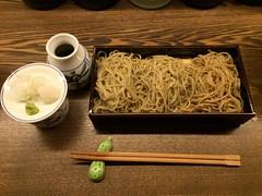 Soba noodle (pelican) Tags: iphone5s coldsoba tokyo harajuku takeshitastreet nomura 野むら