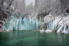 Frozen Paradise (Palnick) Tags: plitvice croatia water ice waterfall winter nature snow lake national park landscape travel tourism environment europe clean river beautiful beauty rock blue vacation tree wood fresh famous natural view outdoors motion destination flow paradise cascade cold nobody forest spring green outdoor stream purity unesco white lush reflection pond leaf frozen plant stone lakes upperlakes sightseeing season freeze climate crystal cool icicle snowy wilderness trip frost nationalpark icy hiking flowing
