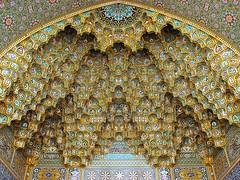 Fatima Masumeh Shrine, Qom, Iran (mike catalonian) Tags: mosque iran qom