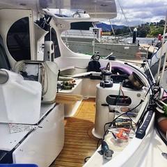 Boat fixing mayhem at the Prince of Wales Bay Marina