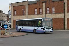First Glasgow - SN65 OHR (44651) (MSE062) Tags: first glasgow sn65 ohr sn65ohr 44651 low floor scotland single decker bus enviro 200 mmc e200 e200mmc blantyre motherwell adl alexander denns