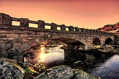Stonebridge (©jforberg) Tags: 2017 vatne stone bridges sun sunrise norway noregia norwegian norwegen norge water wonderful waterfront winter wether w
