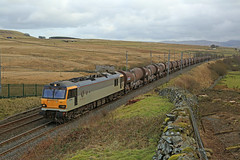 Nearly there! (DieselDude321) Tags: 92044 couperin class 92 gbrf 6s94 0203 dollands moor irvine caledonian paper shap wells cumbria wcml summit hardendale fell beck head