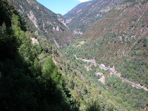 1840 - Col de la Couillole - Looking down on lower section on descent