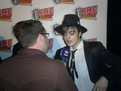 Me and Pete Doherty - He's at sixes and sevens