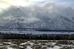 WY-Grand Tetons NP-Peaks and Clouds_small (MoEaFaTi) Tags: mountains landscape wyoming tetons