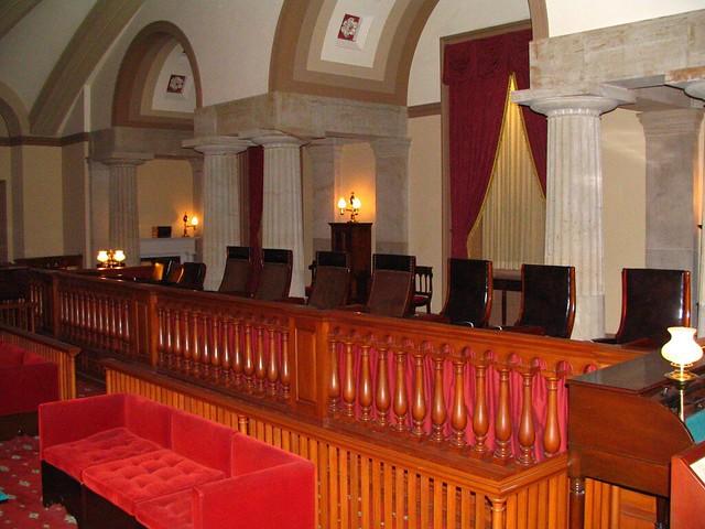 Original Supreme Court chambers, US Capitol