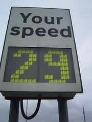 Digital Your Speed Sign