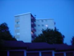 Hardheim? (second detail) Tags: blue building night hardheim bardenhorst