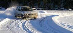 latikainen (ansik) Tags: winter snow minolta rally 7d bmw konica dynax finnish slippery e28 icedrifting sladi