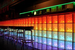 Gay bar? (Heather Leah Kennedy) Tags: gay color colour bar austin rainbow colorful texas