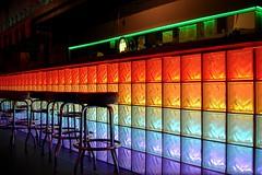 Gay bar? (Heather Leah Kennedy) Tags: gay color colour bar austin rainbow colorful texas