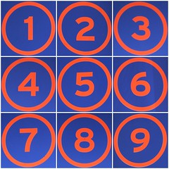 Numbers 1 to 9 (Leo Reynolds) Tags: fdsflickrtoys photomosaic squircle 9panel mosaicnumber hpexif groupfd groupphotomosaics xratio11x mosaicsquircle xleol30x xphotomosaicx