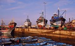 Port (Délirante bestiole [la poésie des goupils]) Tags: port boat harbour morocco stupid marc essaouira