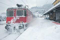 Rheineck - Switzerland (Kecko) Tags: schnee winter snow public station geotagged schweiz switzerland europe swiss transport kecko ostschweiz railway zug bahnhof 2006 sbb railwaystation bahn verkehr rheineck swissphoto geo:lat=47467245 geo:lon=959078