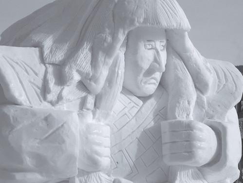 Japanese snow sculpture 1960.2