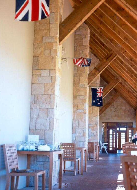 Flags, Canterbury Winery, New Zealand
