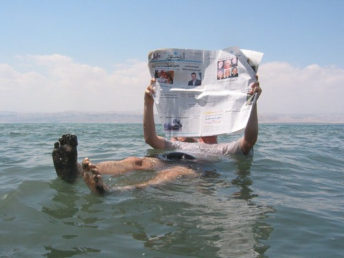 Dead Sea newspaper | Flickr