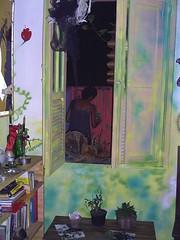 view : Ju in lovely momment (Petite Poupe7) Tags: art decorao santateresa loveisdivine bypp7 francobresilienne julianasolari femaleattack chezju decomju pintando7 5daysofdapainting girlswithattittude jupp7 peacefullmomment