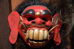 Topeng - A Balinese Mask (k13a.com) Tags: bali indonesia mask ubud rangda topeng celuluk