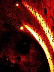 Bethlehem/ (jadziajadzia) Tags: red people saint yellow bar still pub bricks strangers story bible bethlehem cracow stillness updown redyellow believers piecart gloominheart szewskastreet theyremindmeofthem