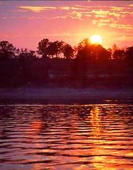 Grand Lake (cmk53) Tags: sunset summer oklahoma tag3 taggedout tag2 tag1 lovely1 grandlake 500v nightcruise