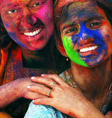 friends2 (subhasish) Tags: holi colorsofindia india indianfestival festivalofindia people faces indianculture colors