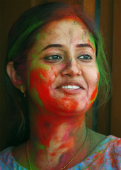 portrait (subhasish) Tags: people india colors faces holi festivalofindia indianfestival indianculture colorsofindia