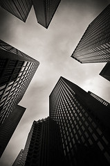 declare (davemacintosh) Tags: nyc blackandwhite streetphotography touchthesky