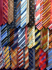 tie display at odels