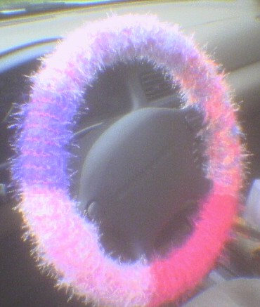 Steering Wheel Covers. Fuzzy Steering Wheel Cover