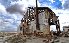 (shadowplay) Tags: abandoned desert mining mojave 12mm desolate 395