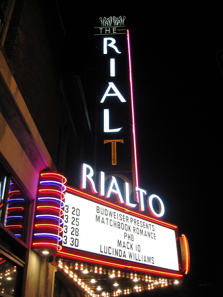 The historic Rialto Theater in Tucson.