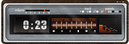 Listening to SomaFM