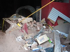 DSC02298 (garlinii) Tags: buildings katrina downtown neworleans debris hurricanekatrina damage superdome