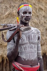 Karo man with AK-47 (CharlesFred) Tags: africa people expedition nature river african south charles tribal rafting favourites tribes afrika remote ethiopia favourite myfavourites afrique 100000 omo eastafrica twohundred roffey southomo omoriver charlesfred charlesroffey southernethiopia raftingexpedition remoteriver remoteriverexpeditions omoriverpeople omorivertribes 418240507 twohundredfavourites