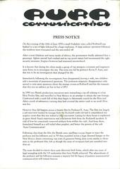 Aura Communication Press Release