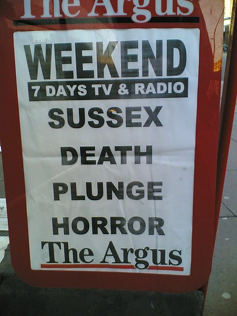 Sussex Death Plunge Horror
