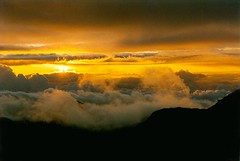 Sunrise from Mount Haleakala, Maui, Hawaii - by exfordy