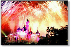 Firework@Disneyland, Hong Kong (hk_traveller) Tags: 2005 trip travel summer vacation color 20d topf25 canon hongkong photo interestingness interesting flickr disneyland canon20d firework disney traveller explore turbo  1000views douban top500 i500 view1000 turbophoto