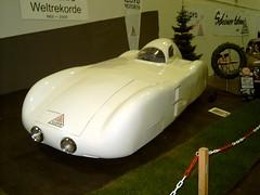 """1954 Lloyd """"Roland"""" world speed record breaker (Davydutchy) Tags: essen 2006 lloyd techno goliath hansa borgward technoclassica classica thebiggestgroup copyrightdavydutchy"""
