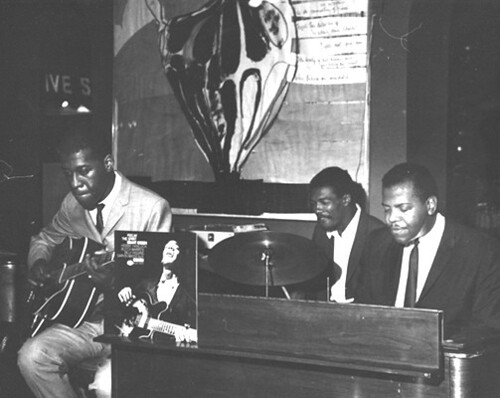 Grant Green, J.C. Moses, Larry Young by georgeheid