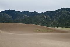 Sand Swells (brucetopher) Tags: sand dune dunes sanddunes shapes mountains mountain hills waves earth ground hike explore park usnationalpark evening desert sands arid dry brown